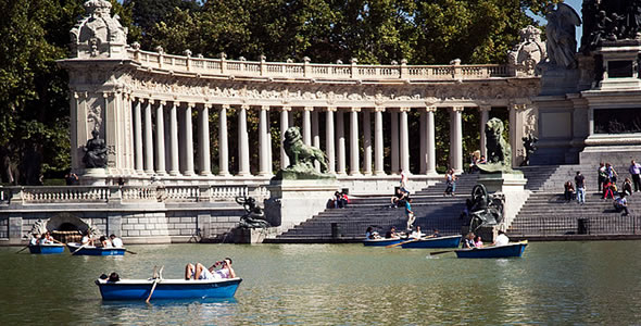 Madrid espa a for Jardines que visitar en madrid